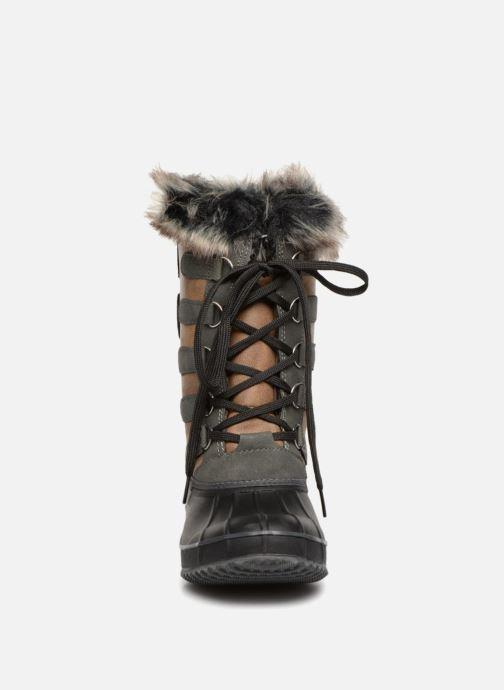Chaussures de sport Kimberfeel ODESSA Marron vue portées chaussures