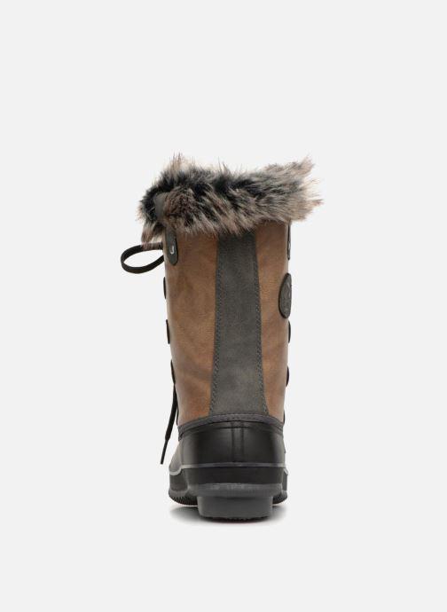 Chaussures de sport Kimberfeel ODESSA Marron vue droite