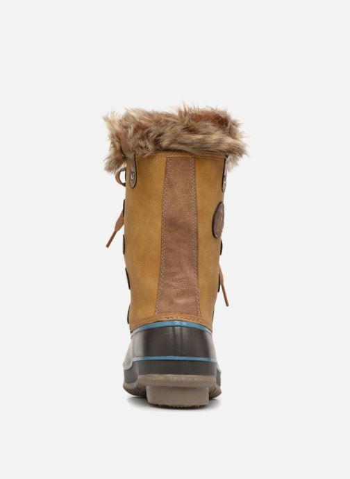 Chaussures de sport Kimberfeel ODESSA Beige vue droite