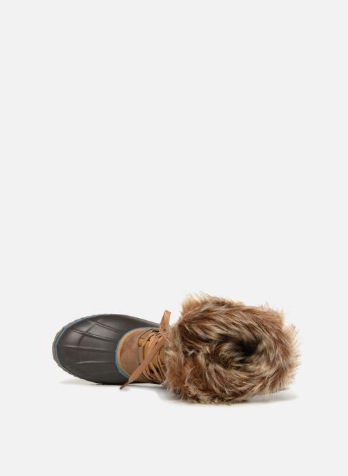 Zapatillas de deporte Kimberfeel ODESSA Beige vista lateral izquierda