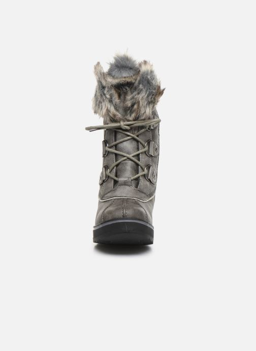 Bottines et boots Kimberfeel CAMILLE Gris vue portées chaussures