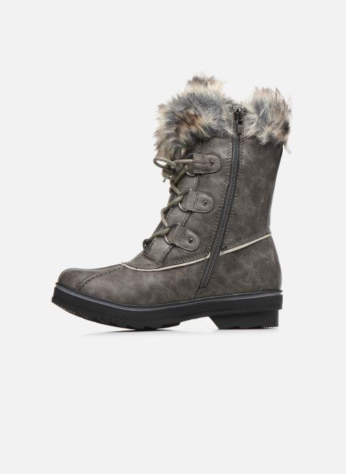 Bottines et boots Kimberfeel CAMILLE Gris vue face