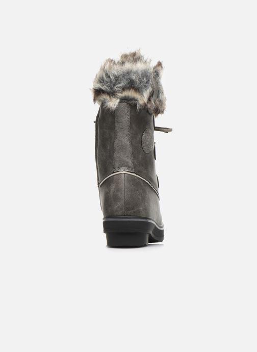 Bottines et boots Kimberfeel CAMILLE Gris vue droite