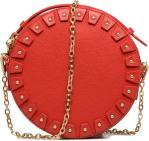 YO YO Cuir Circle bag