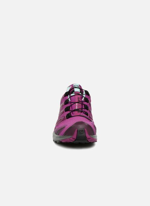 Chaussures de sport Salomon XA PRO 3D GTX® W Violet vue portées chaussures