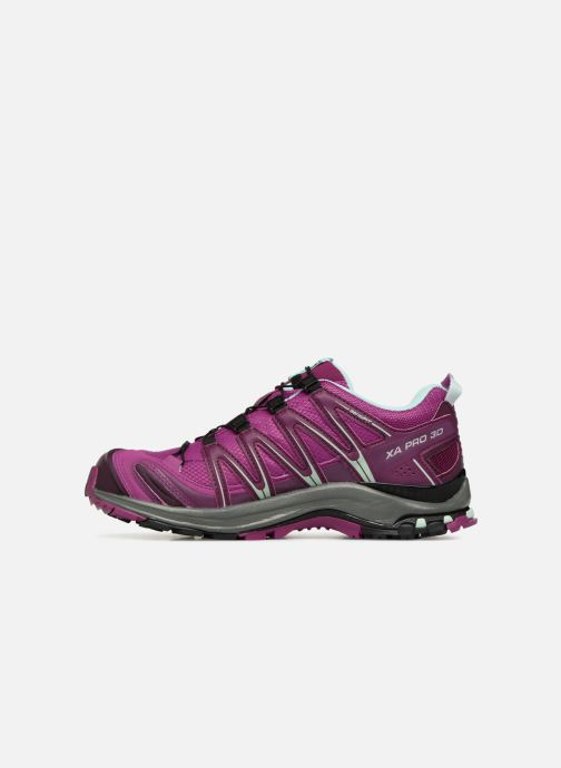 Zapatillas de deporte Salomon XA PRO 3D GTX® W Violeta      vista de frente