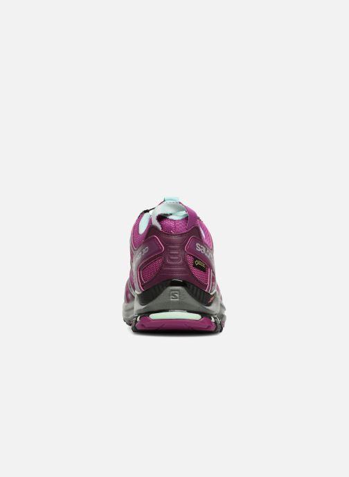 Zapatillas de deporte Salomon XA PRO 3D GTX® W Violeta      vista lateral derecha