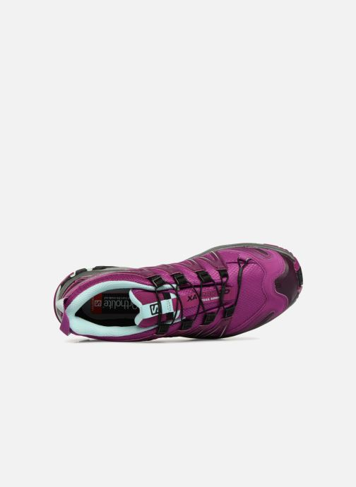 Zapatillas de deporte Salomon XA PRO 3D GTX® W Violeta      vista lateral izquierda