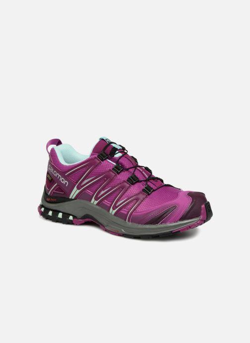 Chaussures de sport Salomon XA PRO 3D GTX® W Violet vue détail/paire