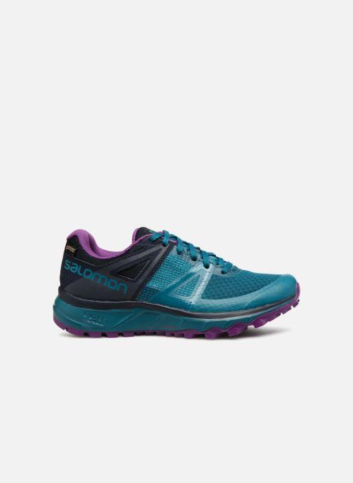 Chaussures de sport Salomon TRAILSTER GTX® W Bleu vue derrière
