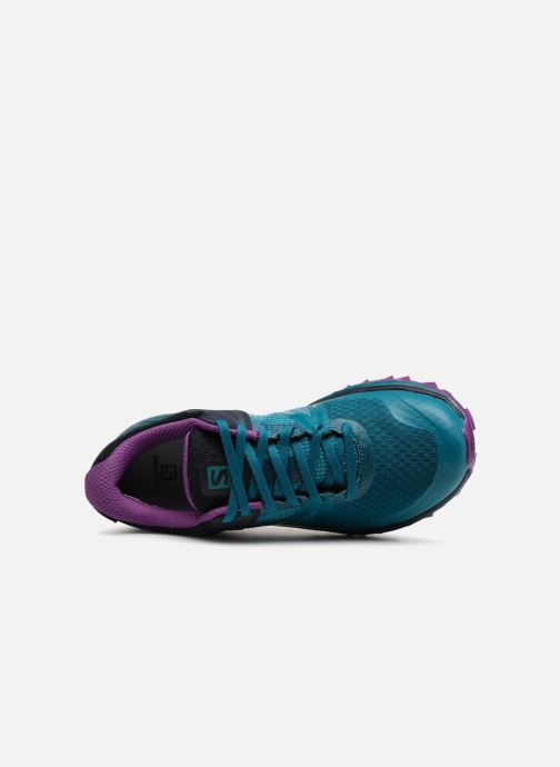 Chaussures de sport Salomon TRAILSTER GTX® W Bleu vue gauche