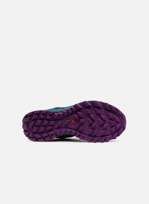Chaussures de sport Salomon TRAILSTER GTX® W Bleu vue haut