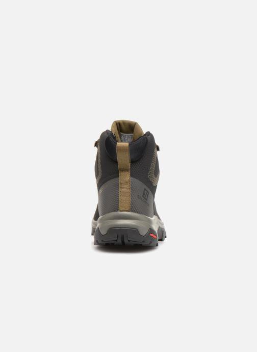 Chaussures de sport Salomon OUTline Mid GTX® Noir vue droite