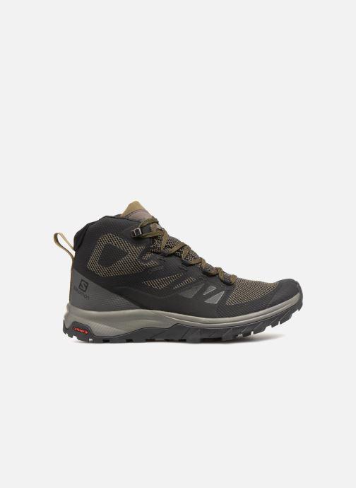 Chaussures de sport Salomon OUTline Mid GTX® Noir vue derrière