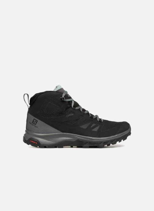 Sportschoenen Salomon OUTline Mid GTX® W Zwart achterkant