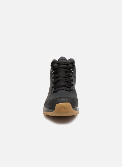 Chaussures de sport Salomon KAÏPO CS WP 2 Noir vue portées chaussures