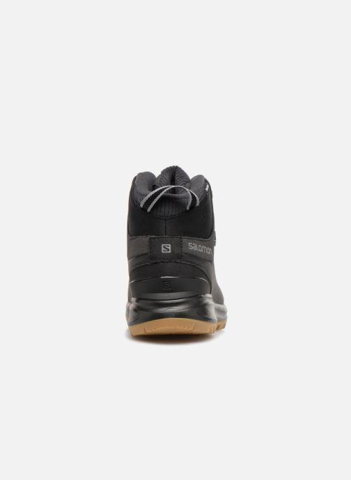 Chaussures de sport Salomon KAÏPO CS WP 2 Noir vue droite