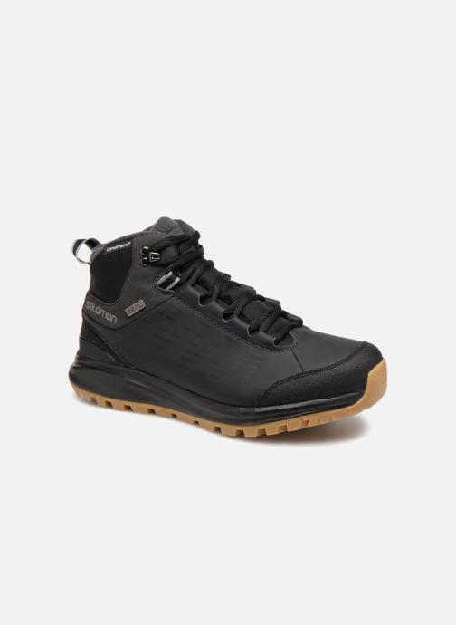 Chaussures de sport Salomon KAÏPO CS WP 2 Noir vue détail/paire