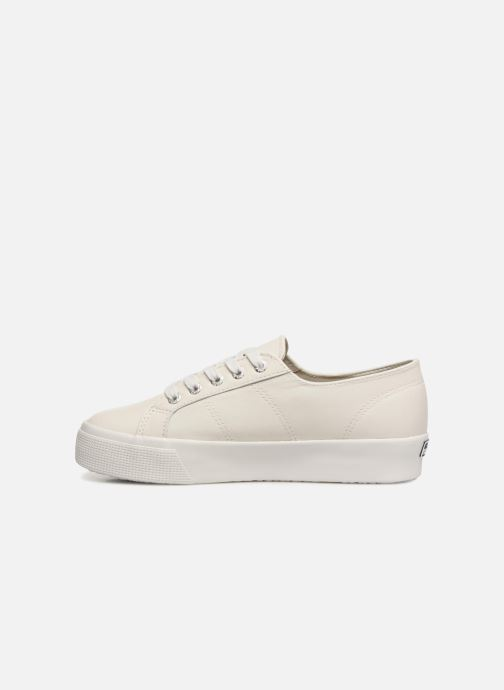 Sneakers Superga 2730 Nappa Lea U Wit voorkant