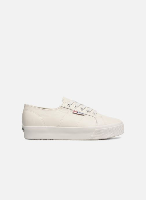 Sneakers Superga 2730 Nappa Lea U Wit achterkant
