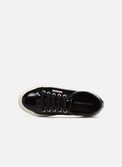 Sneakers Superga 2750 Lea Patent W Zwart links