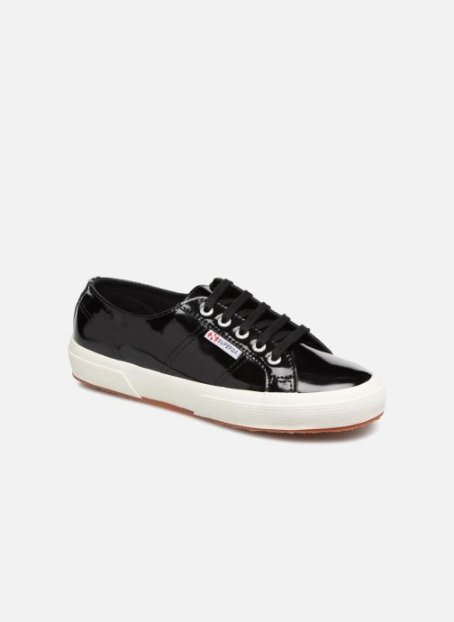 Sneakers Superga 2750 Lea Patent W Zwart detail