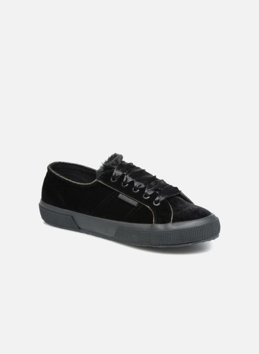 Sneaker Superga 2750 Velvet Chenille Cofur Glitter W schwarz detaillierte ansicht/modell