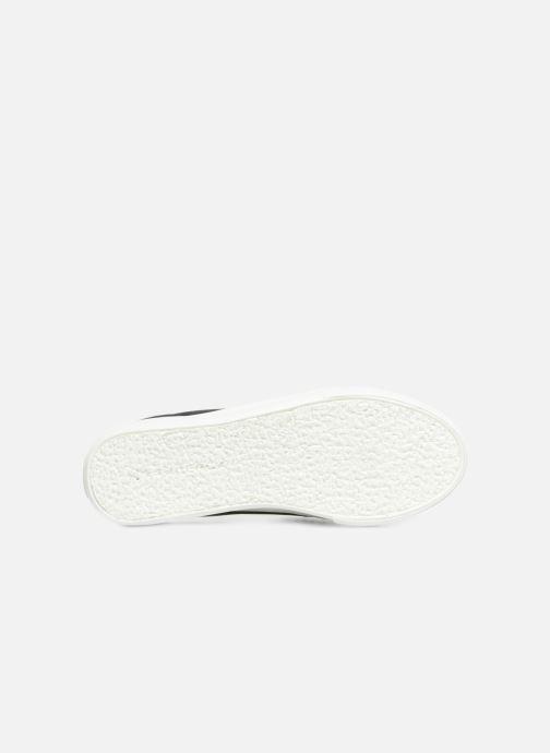 Sneaker Superga 2730 Velvet Chenille Strap  Cofur W schwarz ansicht von oben
