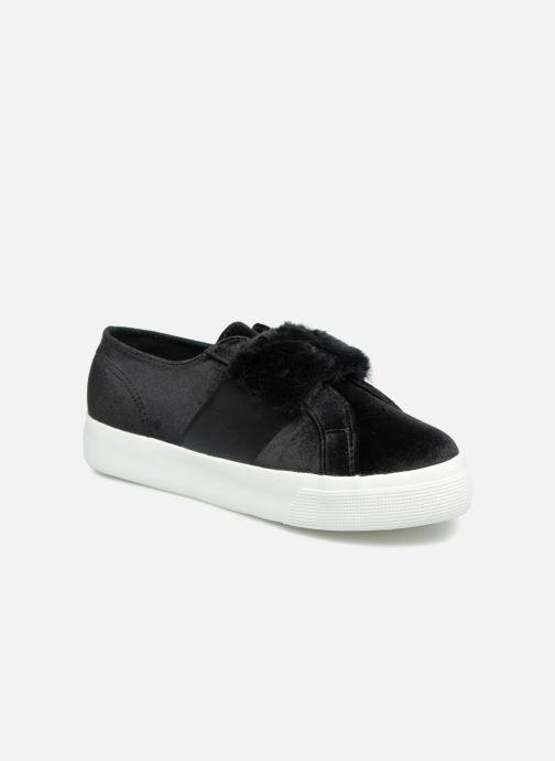 Sneaker Superga 2730 Velvet Chenille Strap  Cofur W schwarz detaillierte ansicht/modell