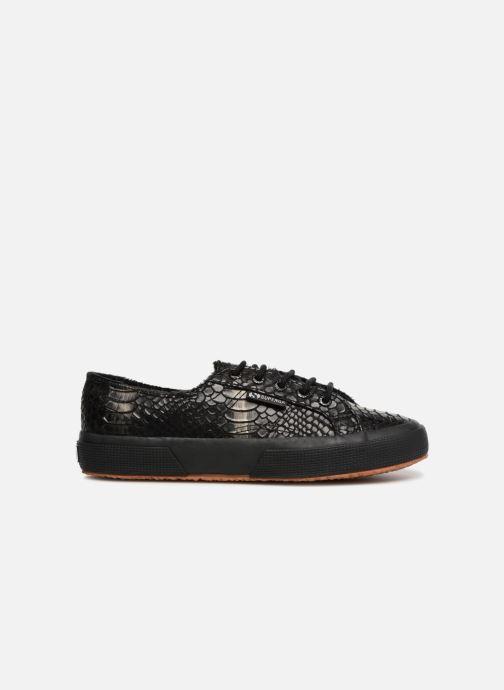 Sneaker Superga 2750 Syn Brushed Snake W schwarz ansicht von hinten