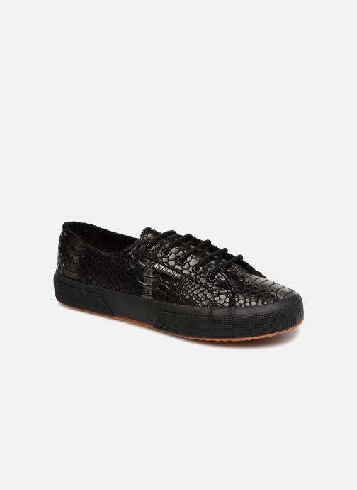 Sneaker Superga 2750 Syn Brushed Snake W schwarz detaillierte ansicht/modell
