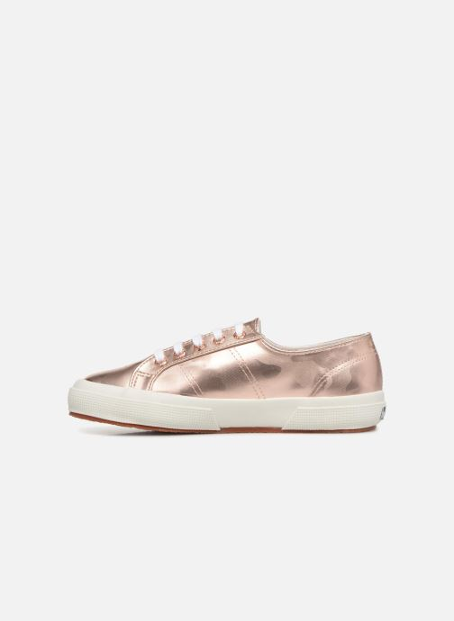 Sneakers Superga 2750 Army Chrom W Roze voorkant