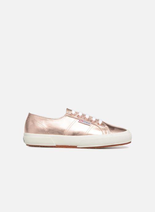 Sneakers Superga 2750 Army Chrom W Roze achterkant