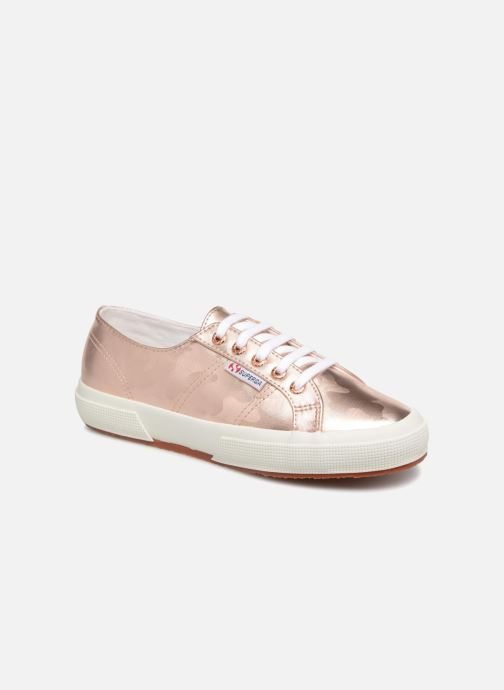 Sneakers Superga 2750 Army Chrom W Roze detail