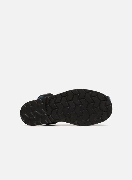 Sandales et nu-pieds MINORQUINES Mouton Samsø Bleu Noir vue haut
