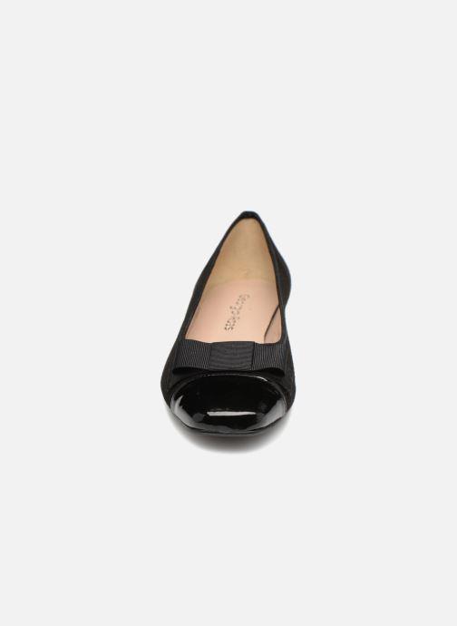 Ballerines Georgia Rose Sobow Soft Noir vue portées chaussures