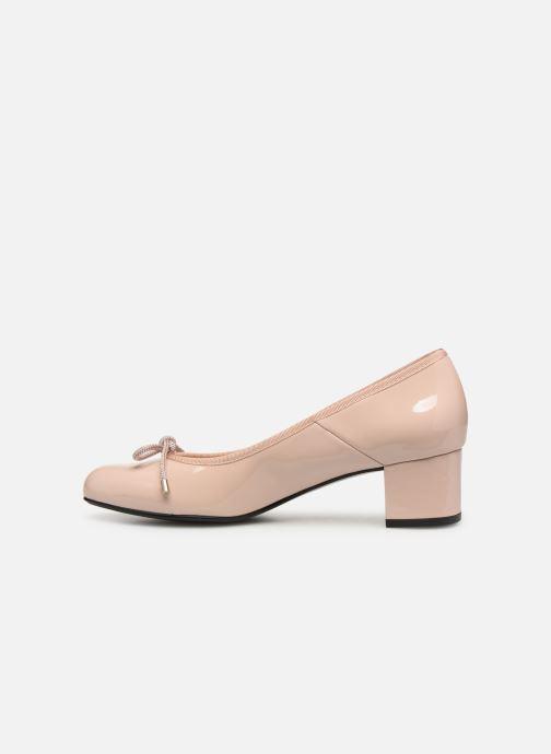 Zapatos de tacón Georgia Rose Staci Soft Beige vista de frente