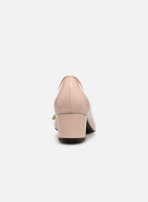 Zapatos de tacón Georgia Rose Staci Soft Beige vista lateral derecha