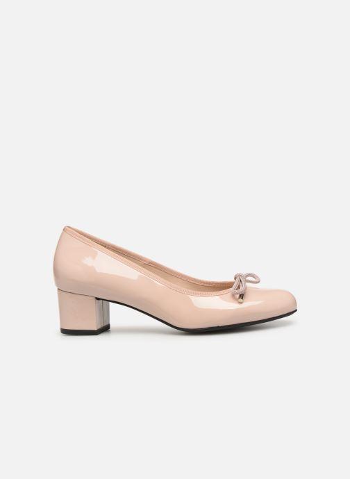 Zapatos de tacón Georgia Rose Staci Soft Beige vistra trasera
