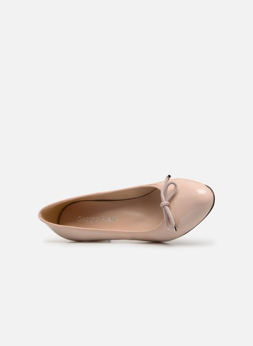 Zapatos de tacón Georgia Rose Staci Soft Beige vista lateral izquierda