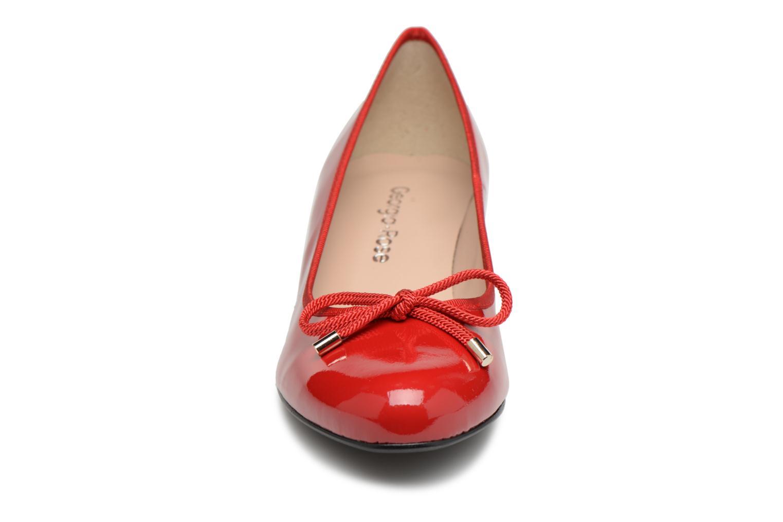 Escarpins Georgia Rose Staci Soft Rouge vue portées chaussures