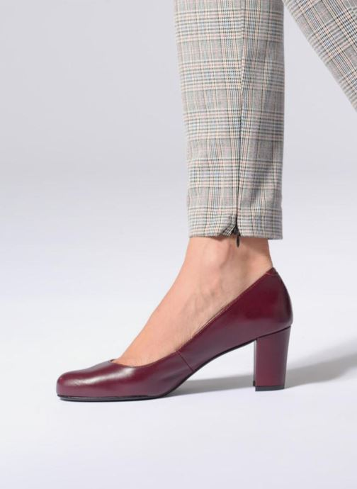 Pumps Georgia Rose Shane Soft Bordeaux onder