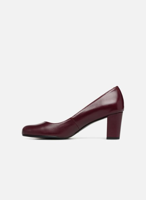 Pumps Georgia Rose Shane Soft Bordeaux voorkant