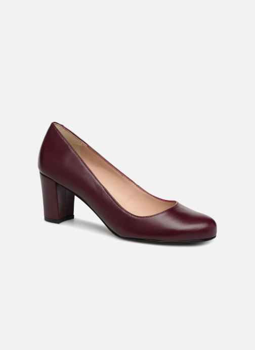 Pumps Georgia Rose Shane Soft Bordeaux detail
