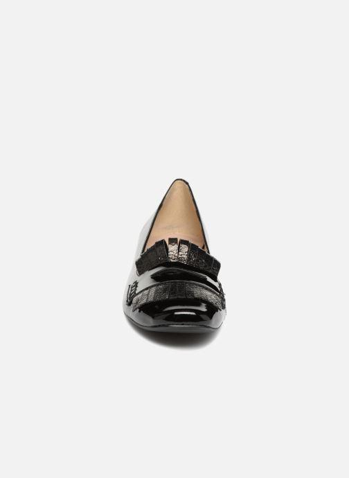 Mocassins Georgia Rose Sorana Soft Noir vue portées chaussures