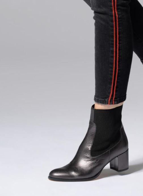 Bottines et boots Made by SARENZA Busy Girl Bottines à Talons #3 Noir vue bas / vue portée sac
