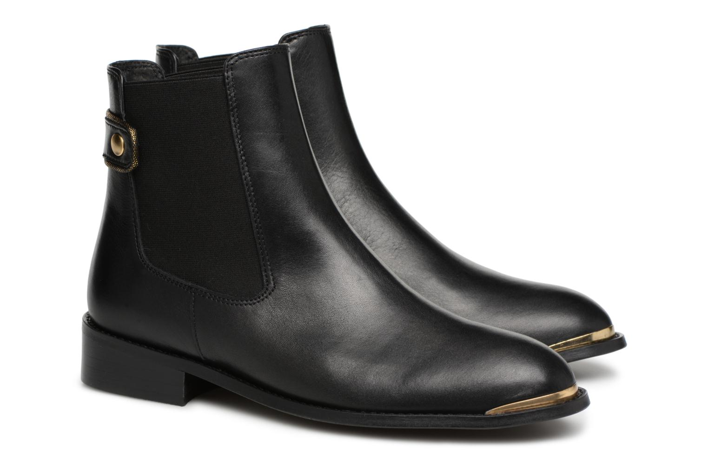 Bottines et boots Made by SARENZA Busy Girl Bottines Plates #3 Noir vue derrière