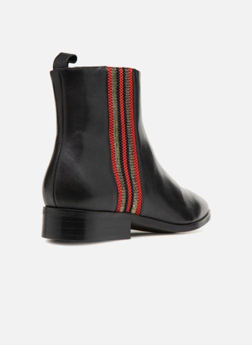 Boots en enkellaarsjes Made by SARENZA Busy Girl Bottines Plates #5 Zwart voorkant