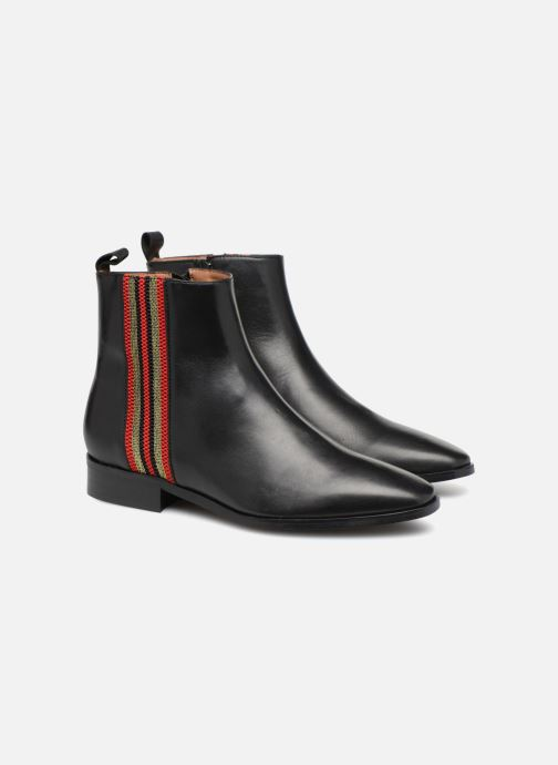 Boots en enkellaarsjes Made by SARENZA Busy Girl Bottines Plates #5 Zwart achterkant