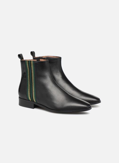 Bottines et boots Made by SARENZA Busy Girl Bottines Plates #5 Noir vue derrière